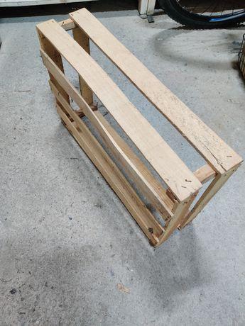 Skrzynki drewniane, cienkie 13 sztuk