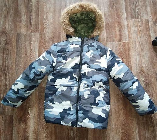 Куртка зимняя, двухсторонняя