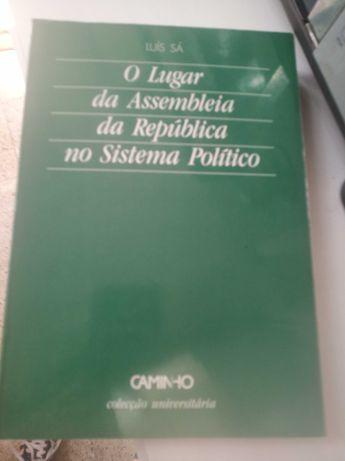 O Lugar da Assemblea da República no Sistema Político, Luís Sá