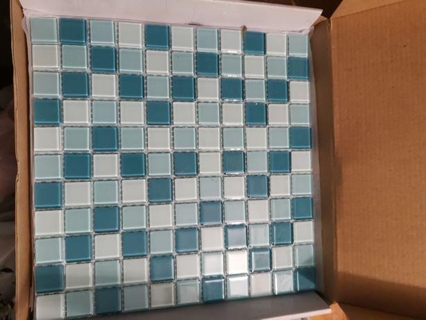 Mozaika kolor morski 30x30