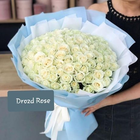 Квіти/Зрізні Троянди/Безкоштовна доставка/101 троянда/Букети/троянди