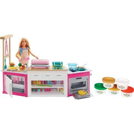 Кухня Barbie набор кукла Барби и мега кухня Ultimate Kitchen