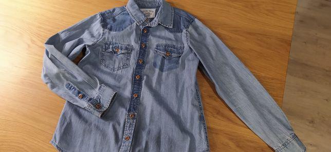 Koszula jeansowa Reserved 140 cm, jak nowa
