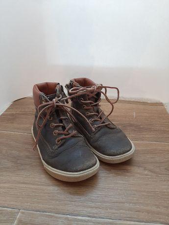 Ботинки осенние кожаные timberland 28 размер