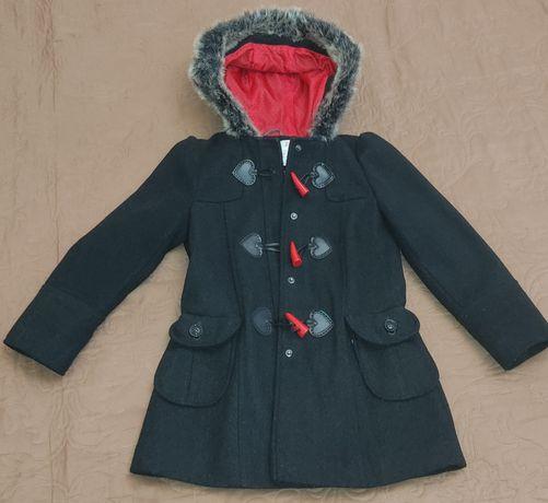 Осіннє пальто для дівчинки