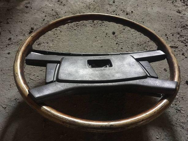 Руль деревянный Toyota mark II gx61 и гитары переключатели