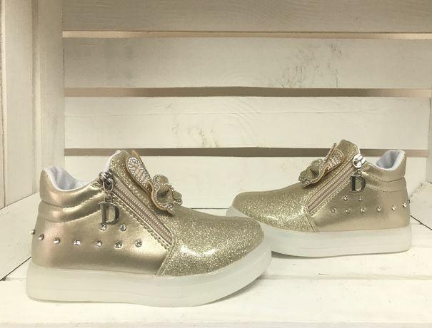 Демисезонные ботинки, весенние ботинки, весенняя детская обувь