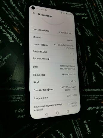 Huawei p 40 lite 6 128 телефон зардне чохол відмінна камера гарантія4м