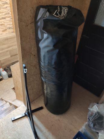Duży worek bokserski z uchwytem