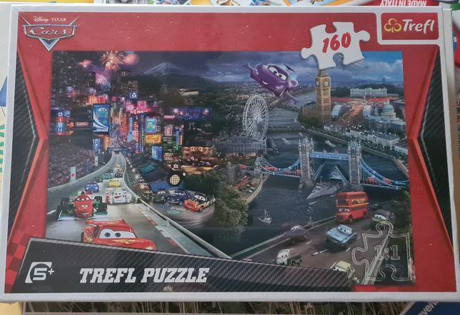 Nowe, zapakowane puzzle Disney Cars 160