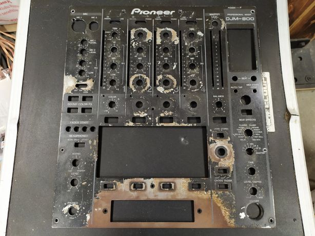 Pioneer DJM-800 - panel do malowania