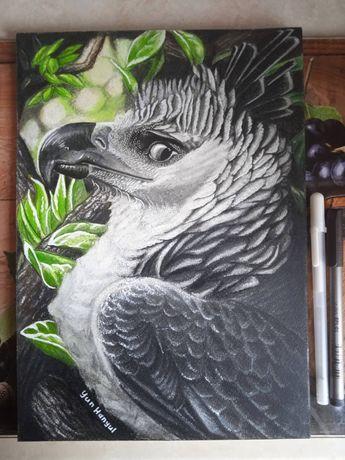"""Картина """"Гарпия царица птиц"""""""