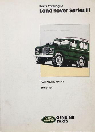 Catálogo Peças Land Rover Séries 3
