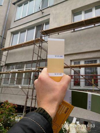 Профессиональное утепление фасадов квартир, частных домов