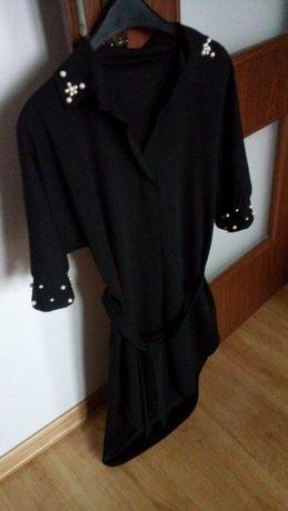 Czarna tunika rozm.L dość elastyczna