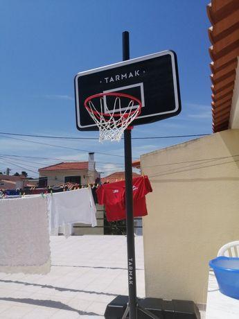 Cesta de basquete(Tarmak) com bola(Addidas) - NOVO