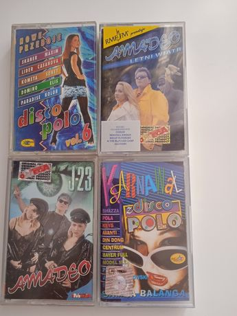 Amadeo disco polo kasety magnetofonowe