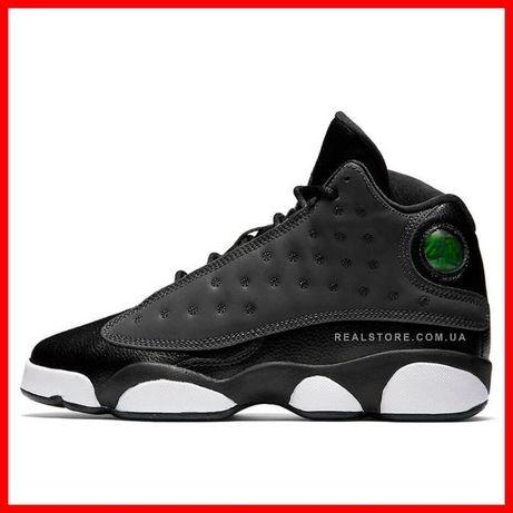 """Кроссовки Nike Air Jordan 13 Retro BG """"Black Cat"""". Найк Аир Джордан 13"""