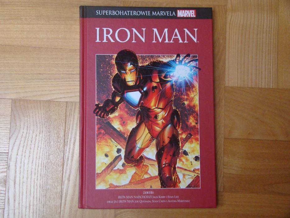 Komiks Superbohaterowie Marvela nr 3 Iron Man Olsztyn - image 1