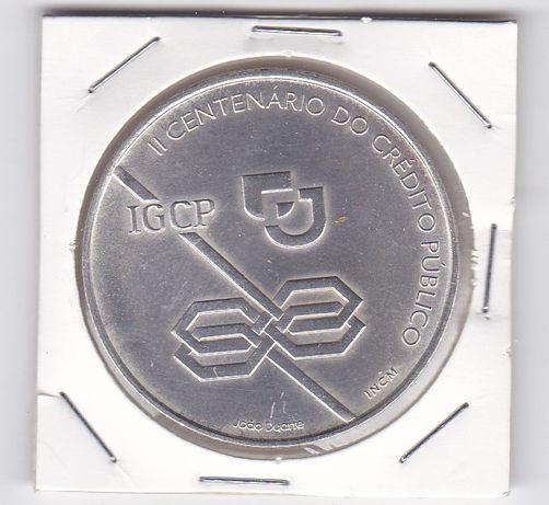 Moeda de 1000$00 em prata