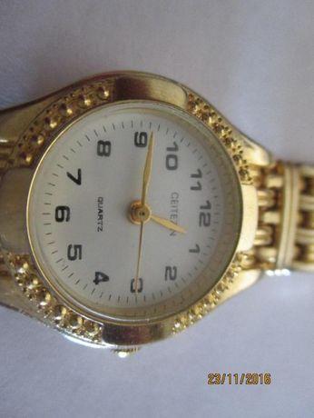 Relógio dourado Ceitezin para senhora ( como novo)