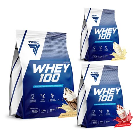 Trec Whey 100 900g białko
