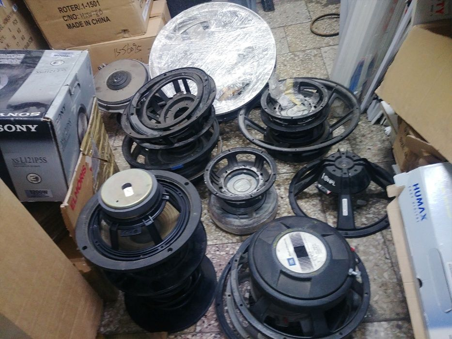 Głośniki estradowe i części do naprawy i regeneracji Sprzedam Będzin - image 1