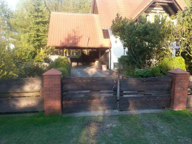 Wynajmę dom nad jeziorem w Borach Tucholskich -doba od 300 PLN