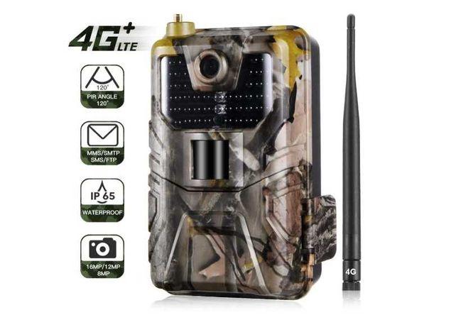 Câmara de caça 4G LTE impermeável deteção movimento