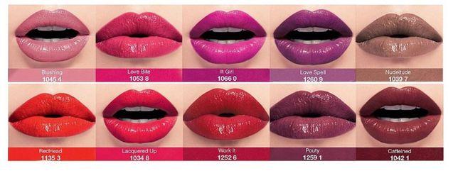 Błyszcząca szminka w płynie kolor Love Bite / BLUSHING NOWA