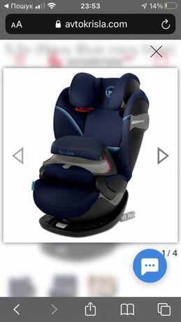 Авто крісло cybek 15-36 kg нове