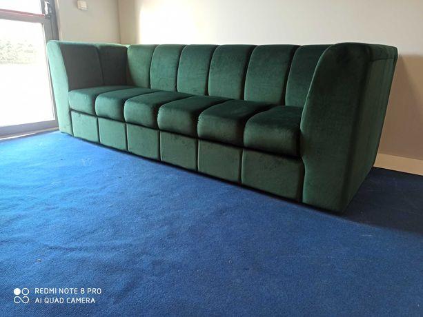 Sofa 3osobowa funkcja spania, welur