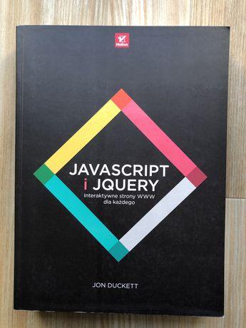 Javascript JS i jquery Jon Duckett Helion java script programowanie