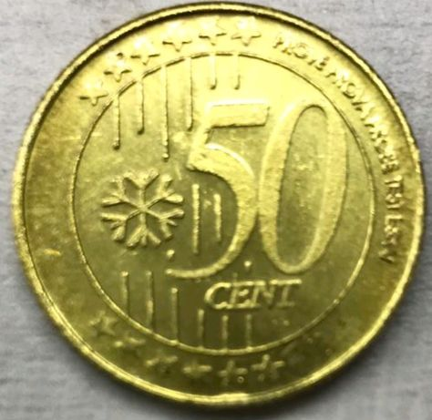 50 cent. Золото.