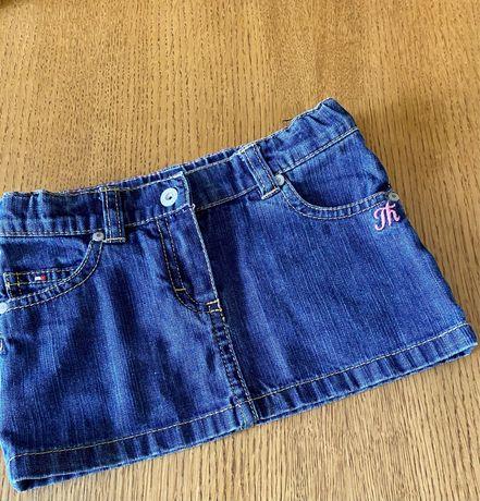 Spódnica jeansowa Tommy Hilfiger 2 latka z gumką spódniczka