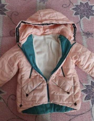 Курточка на дівчинку зима