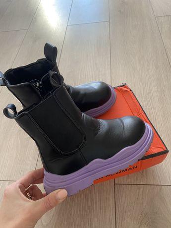 черевички на дівчинку Ботинки в стиле челси