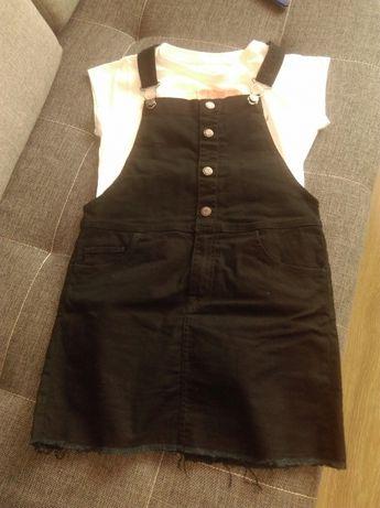 Sukienka/spòdnica ogrodniczka dziewczęca H&M