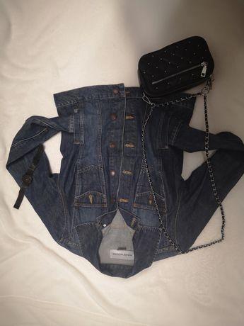 Kurtka jeansowa S