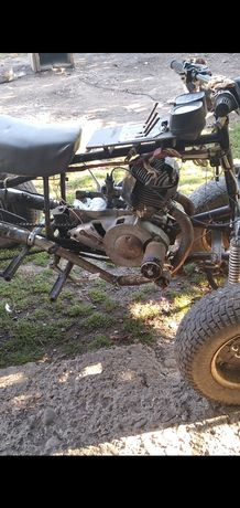 Мотор мотокаляски(гарний стан)