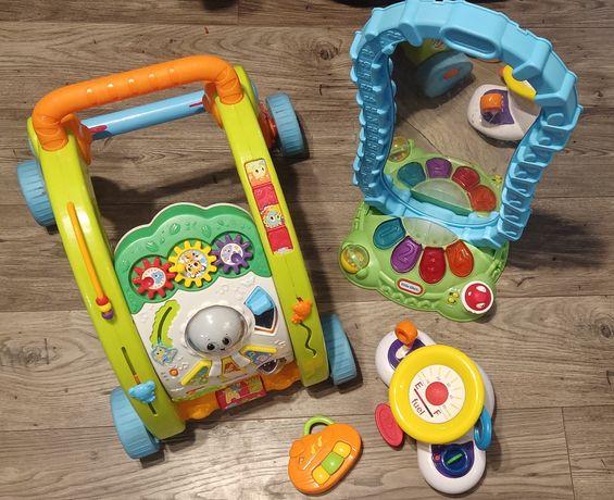 Little Tikes chodzik pchacz zestaw zabawki interaktywne