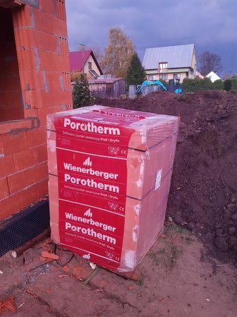 Wienerberger Porotherm 25 Profi / Dryfix 72szt, paleta