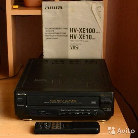 Видеомагнитофон Aiwa HV-XE100KER в идеальном состоянии