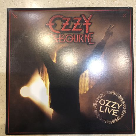 Ozzy Osbourne – Ozzy Live 2LP Vg+/NM Limited Edition Numbered USВинил