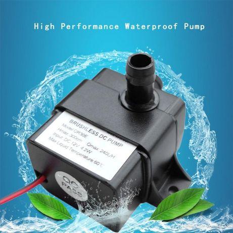Bomba água 4,2W 12V DC submersível aquário