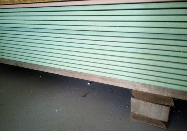 PŁYTA KARTON-GIPS, zielona | 1.2 x 2.60m | Transport | WODOODPORNA