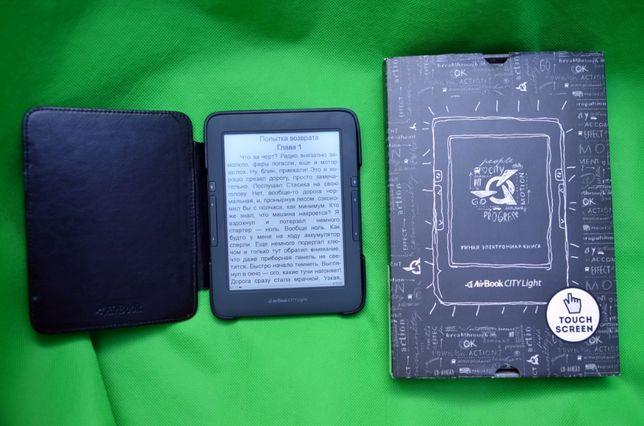 Электронная книга AirBook City Light Touch Подсветка Wi-Fi Fb2 Pdf