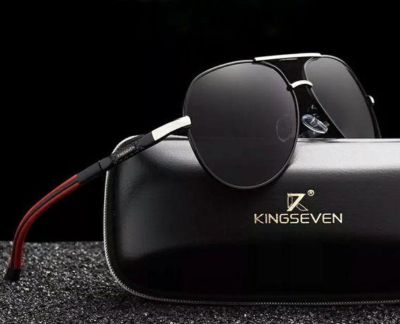 Okulary przeciwsłoneczne twarde etui ,dodatki UV400-2, polaryzacja