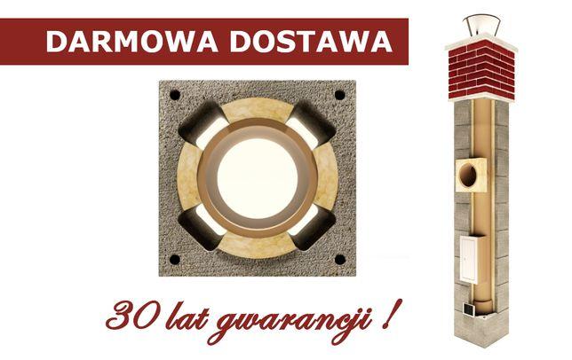 komin dymowy 4m system ceramiczny 30 lat GWARANCJI