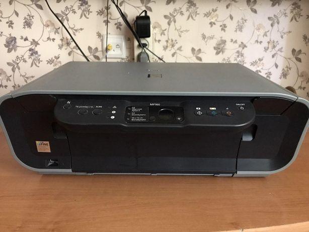 Принтер, ксерокс, сканер Canon Pixma MP160